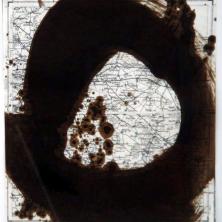 1-613-RVCOLL759127,renier vaessen,1975,90,journey without stones,gemengde techniek op papier,52x52