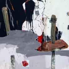 45van-den-boomrenier-vaessen-red-shoes-2009.200x150-cm-acryl-op-doek
